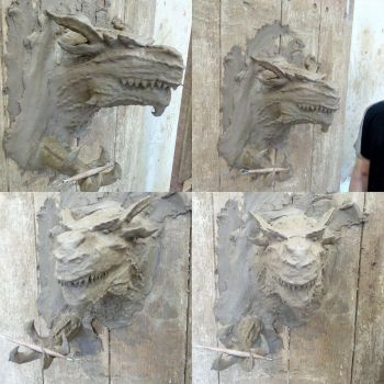 Giant lizard.. [Dragon] by dinosaurbook