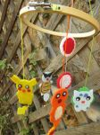 Pokemon Baby Mobile -for sale by P-isfor-Plushes