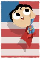 Superman: Bubblehead by JeffVictor