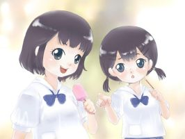 Thai School Girls in Uniform03 by reihaha