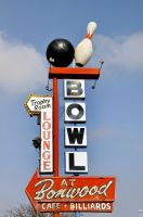 Bowling sign from Salt Lake by houstonryan