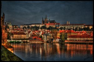 Prague Castle II by amrodel