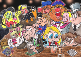 At the pub by Granitoons
