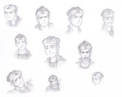 Rex's faces by Pyz4Mitchell