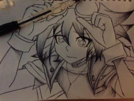 Yuya wip by PastaEater27