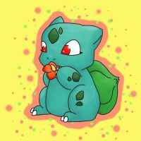 Little Bulbasaur by NeoTheBean