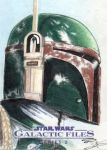 Star Wars GF S2 - Boba Fett Sketch Art Card 2 by DenaeFrazierStudios