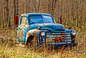 Old Truck by Bartonbo