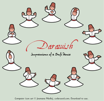 Darawish icon set by Majnouna