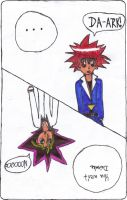 Yugi and Dai Switch by oohpink