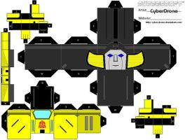 Cubee - Sunstreaker by CyberDrone