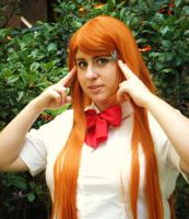 Orihime Cosplay San Japan 4TW by Rora-chan7