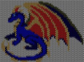 Terreflare Chainmaille Pattern by Terreflare