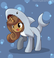 Choco Shark :Art Trade: by hikariviny