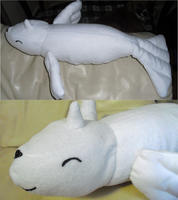 Dewgong Plushie by Pickelicious