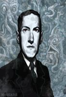 H.P. Lovecraft by McQuade