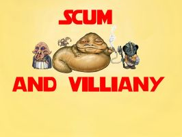 Jabba's SCUM and VILLIANY by masterbarkeep