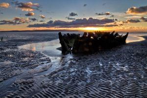 Berrow Wreck by CharmingPhotography
