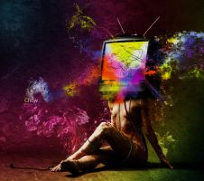 TV paranoid by Greiker