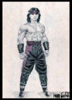 Liu Kang - Protector of Earthr by hardgalvan