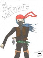 Ninja-Pirate for llfbh33 by PsychoticSoulReaper