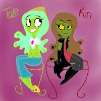 Tale and Kiri by CatnipPacket