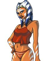 Stylezed Ahsoka- Version 2 by Raikoh-illust