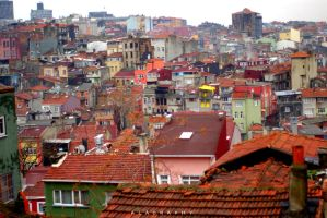 Colorful Instanbul by alahay