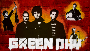 Green Day Wallpaper by BloodVendor