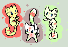 Random Adopts - Open - by Sparklecat-Adopts