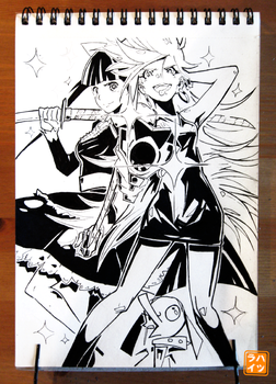 114: Panty and Stocking by 365-Hatsu