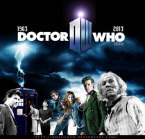 50 Years of Doctor Who by KMeaghan
