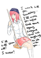 Elfen Lied - Random Lucy Fanart is random by SongstressFlowerMiku