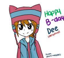 Inazuma eleven: Happy B-DAY DEE by ALeexandraNeko