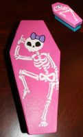 Skeleton Coffin 2 SOLD by angelacapel