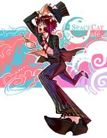 Space Cat Cafe by fayrenpickpocket