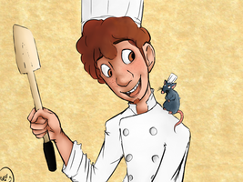 You Ready, Little Chef? by turtlestalker