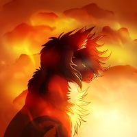 Fire describes the Hell inside by xWolfCrazyx