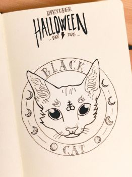 Inktober - Day 2 by JellyInk