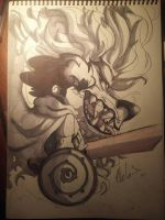 INKTOBER #6.5 by chilica