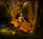 Forest Dancer by AmbreRosa