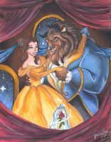 Beauty And The Beast by Lightninglizard