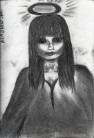 Charcoal Angel by MadhuM93