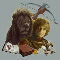 Tyrion Lannister by isbeidy