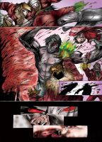 A Simple Comic Page Coloured 9 by anubis55