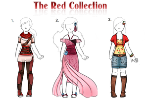 OPEN The Red Collection Clothes by Lt-Frogg