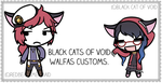 Black Cats of Void Walfas Customs by blackcatofvoid