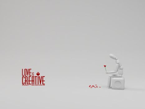 LOVE is CREATIVE by innovation4d
