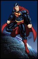Superman march 2012 by WillNoName