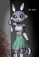 FNAF oc: Ms.Artic by Chaos55t